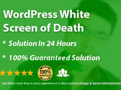 Fix The Wordpress White Screen Of Death
