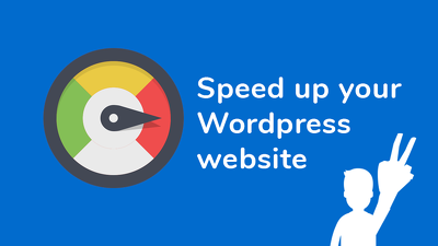 Speed up your Wordpress site right now!