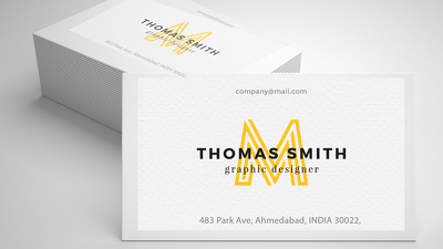 Stylist & Professional Business Card.