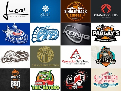 Design a Bespoke Logo+4 Concepts +Unlimited revisions+Artwork