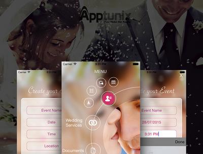 Develop a Wedding Planner Mobile App