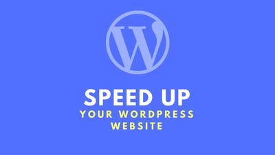 Do WordPress Speed Optimization, Make Your Website Faster