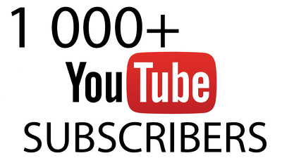 Deliver 1 000+ Youtube subscribers to your channel