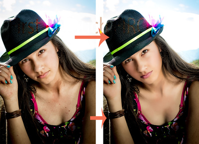 Clean up your photo in photoshop