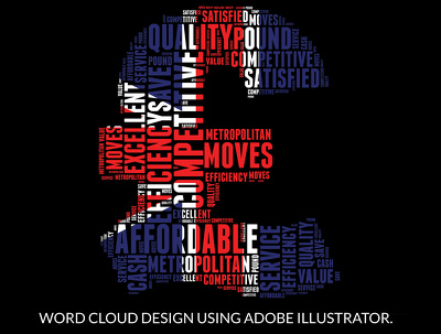 Design any kinds of Custom shape Word Cloud or word art for you