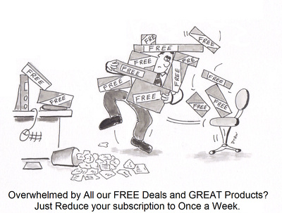 Create a black and white humorous illustration for your business marketing needs.