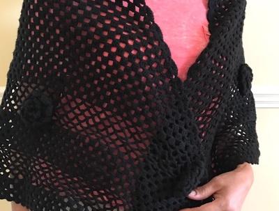 Crochet a shawl