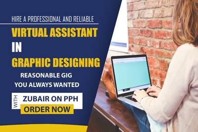 Your virtual graphic designing assistant for 1 hour