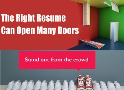 Write RESUME + COVER LETTER for You