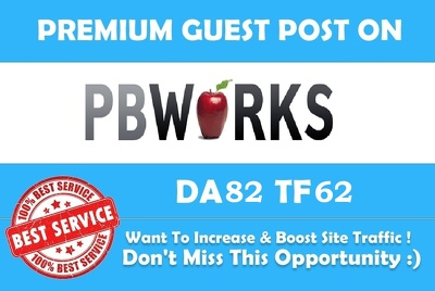 Do Guest Post in Pbworks.com PR7 DA 82 Dofollow backlink