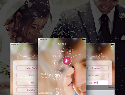 Develop an Android/iOS Event App for your wedding