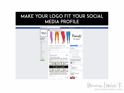 Make your logo fit your social media profile