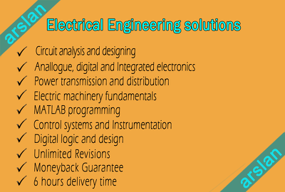 Solve electrical engineering assignments and circuits