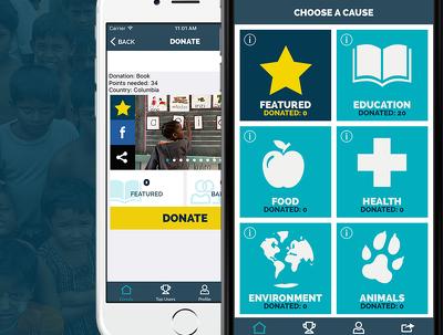 Design the Donation App