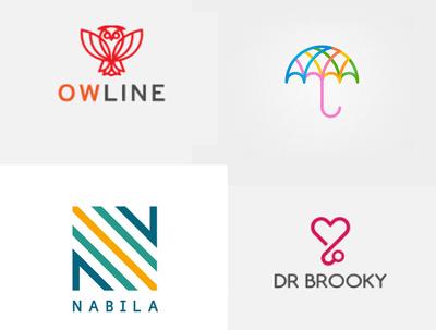 Design your flat or minimalist logo professionally