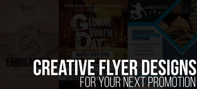 Design a high quality creative flyer for your next event