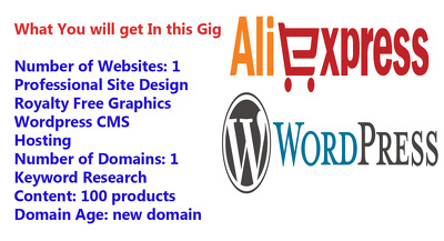 Create An Alexpress Dropshipping Website In Wordpress With 100 Products