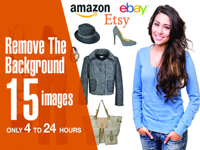 Remove Background of 15 Images in 24 Hours