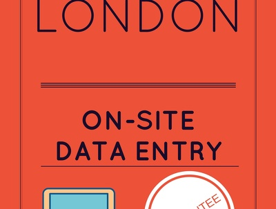 On-site Data Entry in London One Full Day