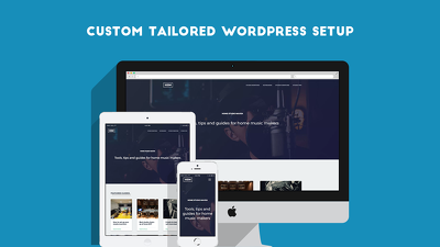 Create a custom tailored WordPress Setup with Divi (included)