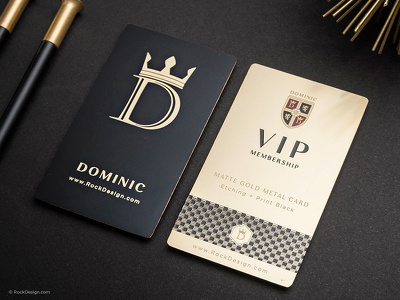 I Will Do Luxury Business Card For You