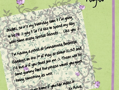 Design scrapbook-style invitations & greeting cards for any occasion