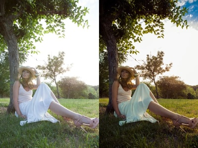 Do color correction of 70 photos Great