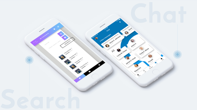Professional UI / GUI / UX For Android / iOS App with Editable PSD