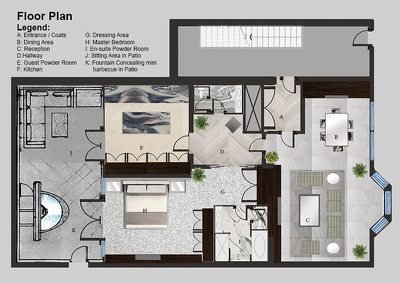 Create or edit floor plan(s) (with free editing up to two times)
