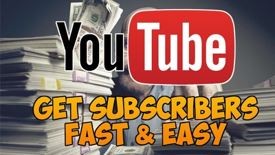 Give 2000 youtube subscribers for your youtube channel