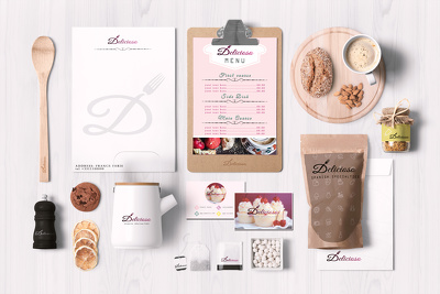 Design Premium Stationery Pack with unlimited revisions
