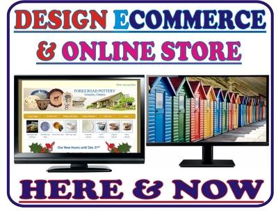 Design your ecommerce website