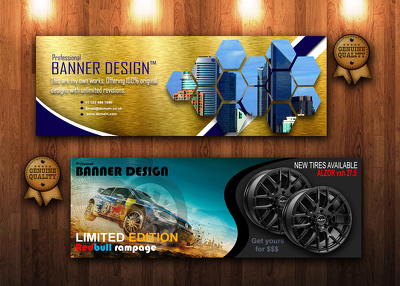 Create a Professional Banner/Advertisement