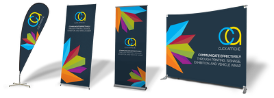 Design roll up banner or outdoor/indoor banner