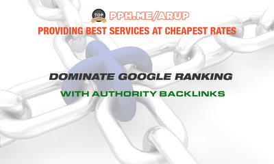 Dominate Google Ranking With Authority Backlinks