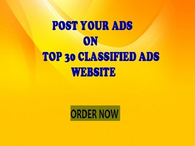 Post Your Ads On Best 30 Classified Website With Proof