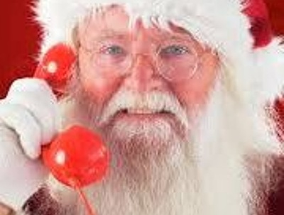 Record a Santa / Father Christmas voiceover / voice over