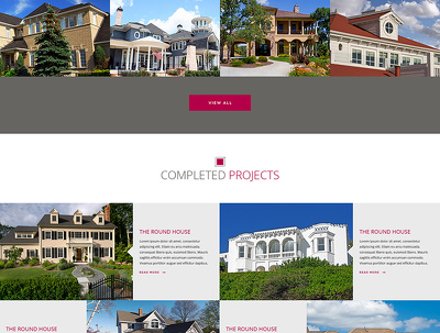 Design landing page in PSD (to 5 sections/folders)