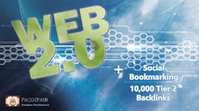 25 Web 2.0 blog properties and 25 social bookmarking + more.