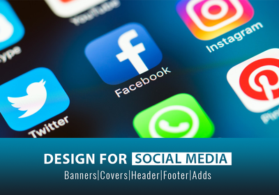 Design amazing social media banners, posters,timeline covers,adds