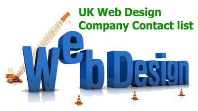 Send you 6000 plus UK WEB DESIGN or DEVELOPMENT Company Contacts or emails list