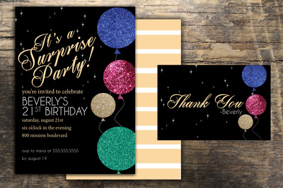 Design your next Custom Party Invitation!