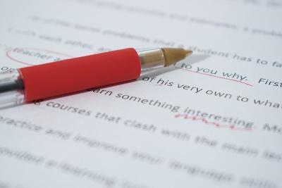 Do an editing sample of your manuscript