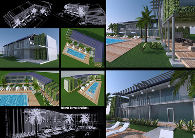 Design 3D Residential and Commercial Building, Interior and Exterior in 4 days