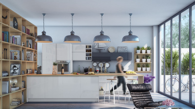 Design or help you design and visualize your kitchen