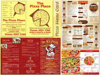Create a very tasty menu design For Your restaurant/bar/cafe