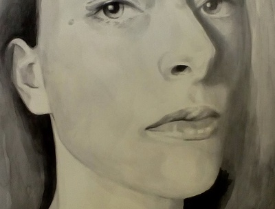 Draw/paint a realistic portrait (watercolor, pencil, charcoal)
