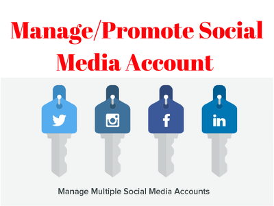Manage your social media account for 5 days