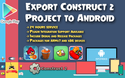 export your construct 2 project to android