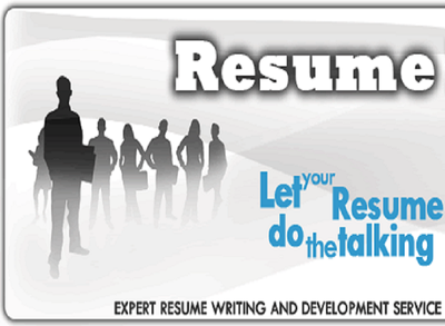 Write,edit and design your resume, cover letter and linked-in Profile